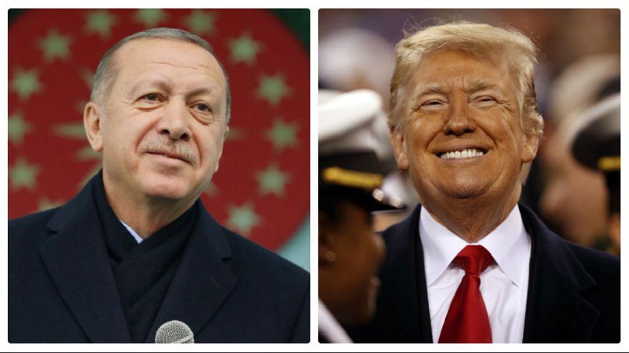 خروج نیروهای آمریکایی از سوریه؛ اردوغان ترامپ را به ترکیه دعوت کرد