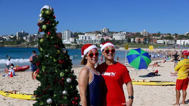 Αυστραλία: Χριστούγεννα στις παραλίες... με καύσωνα