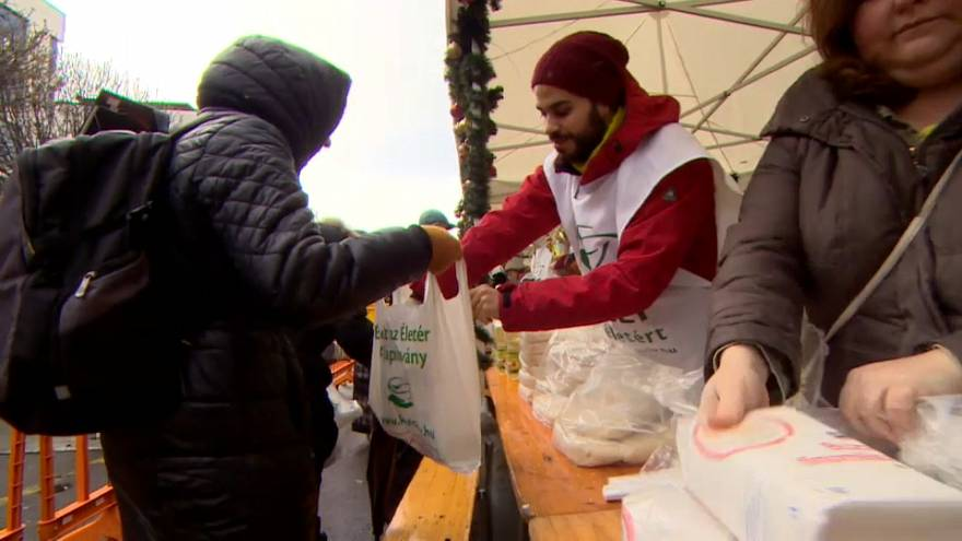Hungary's biggest soup kitchen