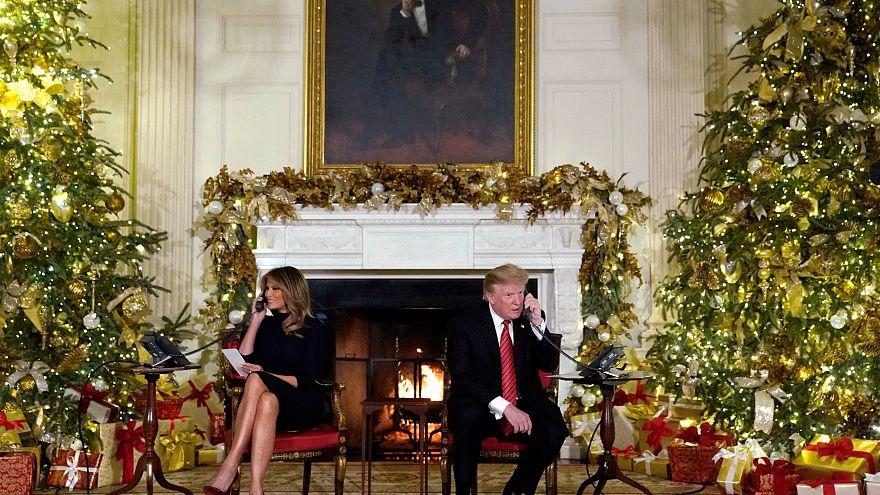'7 yaşında Noel Baba'ya inanmak marjinal' diyen Trump sosyal medyada tartışma başlattı