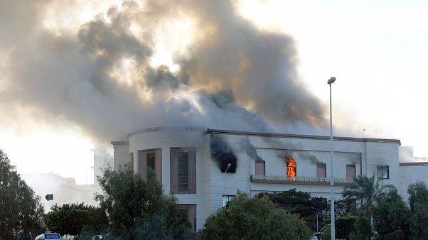 Attentat contre le ministère libyen des Affaires étrangères