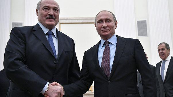 Besuch unter schwierigen Vorzeichen: Putin trifft Lukaschenko