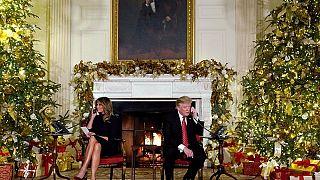 """Trump a un niño: """"¿Sigues creyendo en Papá Noel? Porque con 7 años, es marginal, ¿no?"""""""