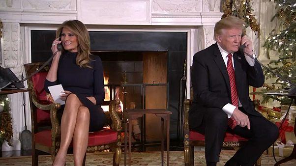 """Trump a criança de sete anos: """"Ainda acreditas no Pai Natal?"""""""