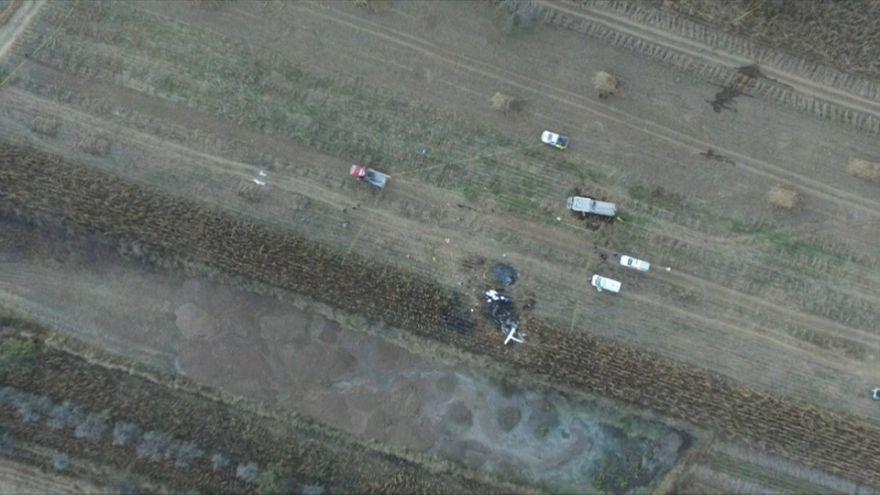 شاهد: تحطم طائرة حاكمة ولاية مكسيكية وزوجها السياسي في حادث غامض