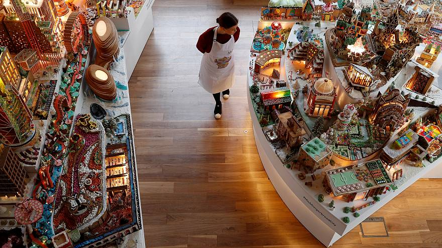 Megépítették mézeskalácsból a jövő Londonját