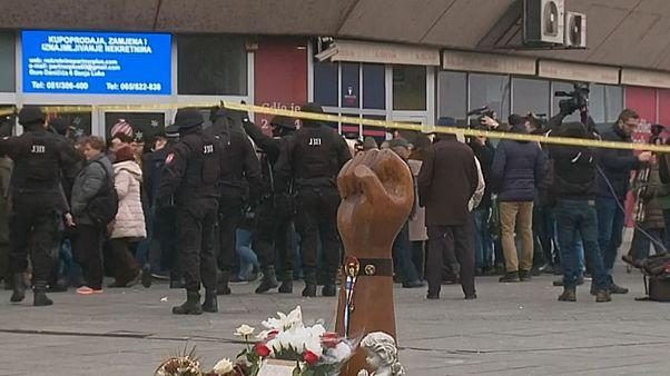 Bosnian Serb police make arrests