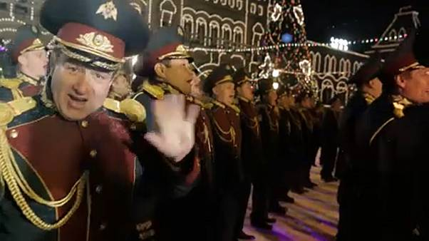 Хор Росгвардии исполнил Last Christmas