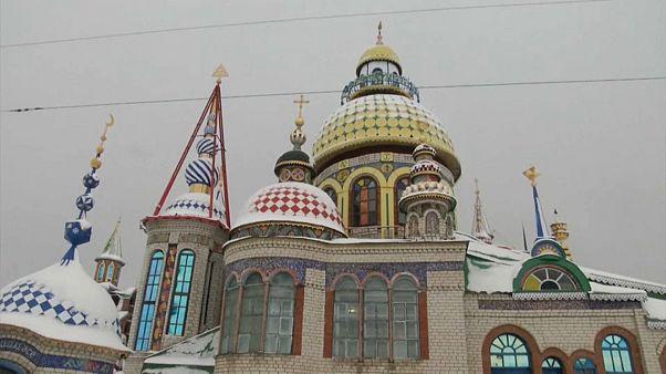 O Templo de Todas as Religiões em Kazan