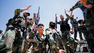 الجيش السوري يرسل تعزيزات قرب خط المواجهة مع قوات تدعمها تركيا