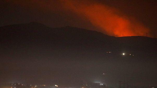 Suriye Ordusu: Başkent Şam'a gönderilen füzeler havada imha edildi