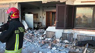 Сицилия: вслед за извержением - землетрясение