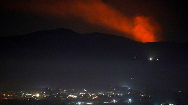 سوریه از حمله هوایی اسرائیل به چند پایگاه در اطراف دمشق خبر داد