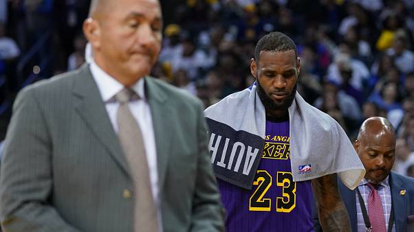 Blessure de Lebron James face aux Warriors