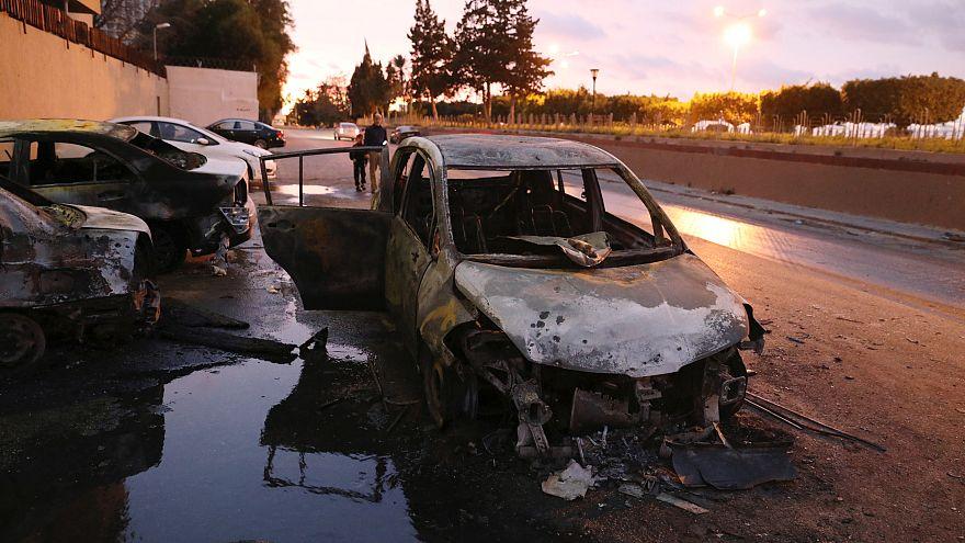 داعش يتبنى هجوم وزارة الخارجية الليبية