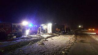 Kırşehir'de otobüs kazası: 3 ölü 35 yaralı