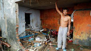 A cunami után heves esőzés sújtja Indonéziát