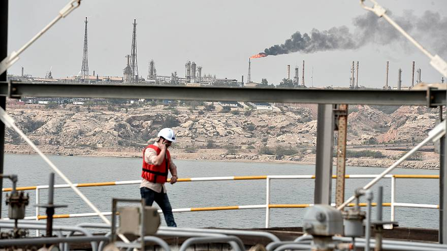 İran Hark Adası Petrol Terminali