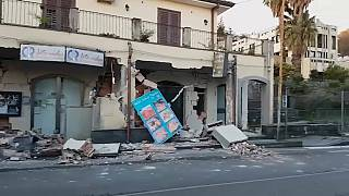 Sismo abala província da Catania