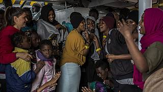 Hundreds of rescued migrants spend Christmas at sea