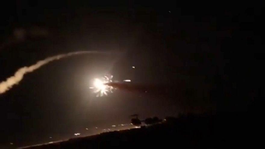 Moszkva Izraelt vádolja szíriai légicsapásokkal