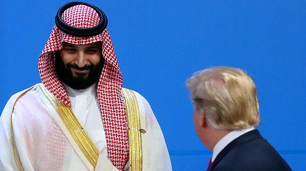 U.S. President Donald Trump and Saudi Arabia's Crown Prince Mohammed bin Sa