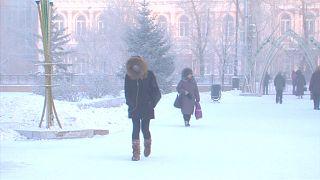 Сильный мороз встрече Нового года не помеха