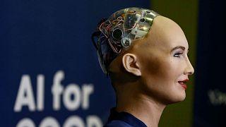 Suudi Arabistan'ın ilk robot memuru mesaiye başladı