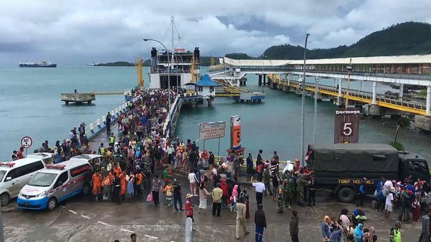 Indonesien nach dem Tsunami: Behörden evakuieren Küstengebiete