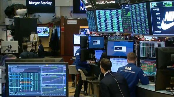 Rekorde an der Wall Street: Dow gewinnt 1.000 Punkte