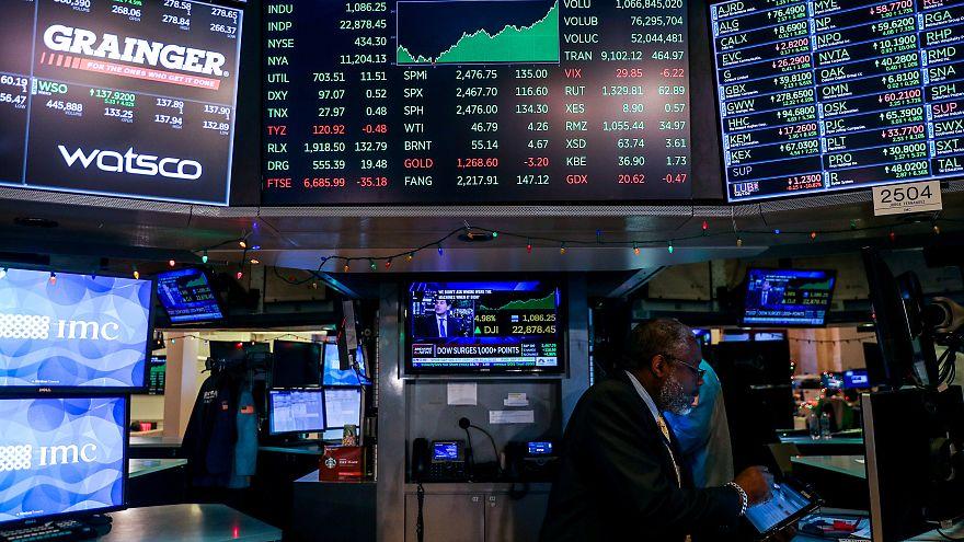 Kursrally an der Wall Street