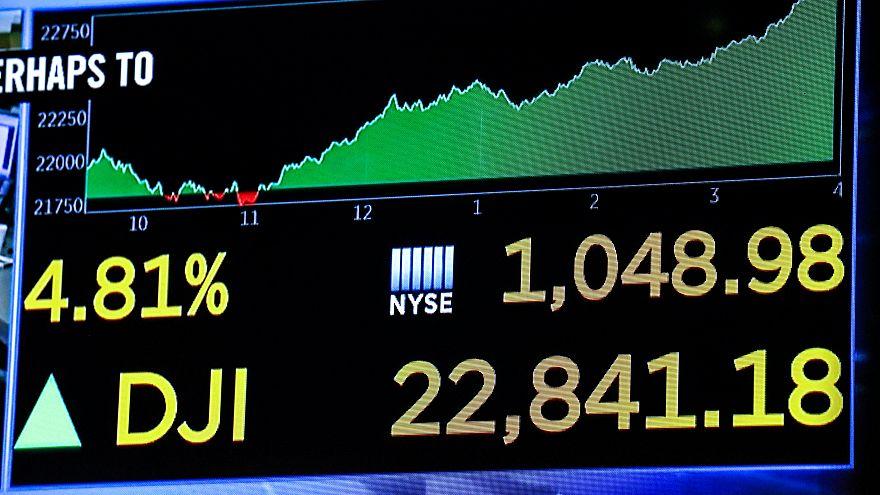 Рост биржи Нью-Йорка не имеет прецедентов