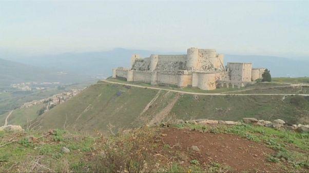 Un château des croisades à l'épreuve de la guerre