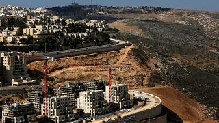 Batı Şeria'da bir yerleşim birimi