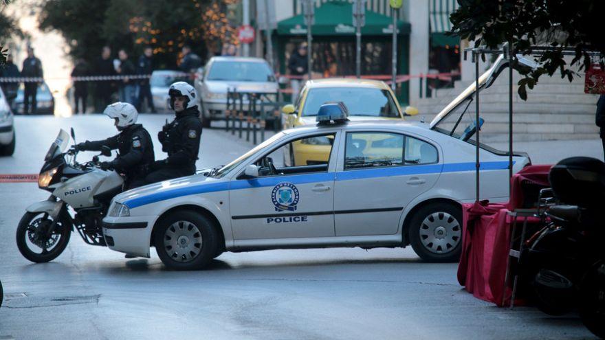 Explosion in der Innenstadt von Athen