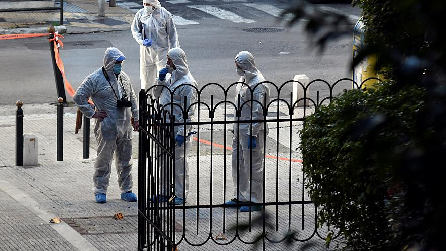 Bomb goes off outside Athens church