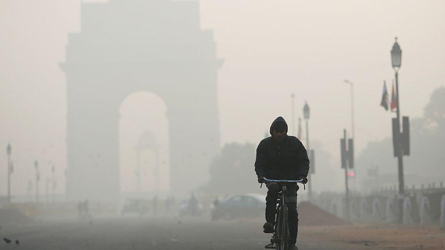 Szörnyű a levegő minősége az indiai fővárosban
