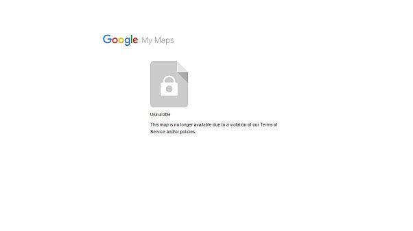 Google Kürt haritasını kaldırdı