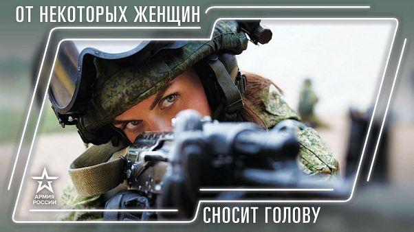 """""""Gyilkos tekintet a Kreml titkos fegyvere"""" - propagandanaptárat készített az orosz hadsereg"""