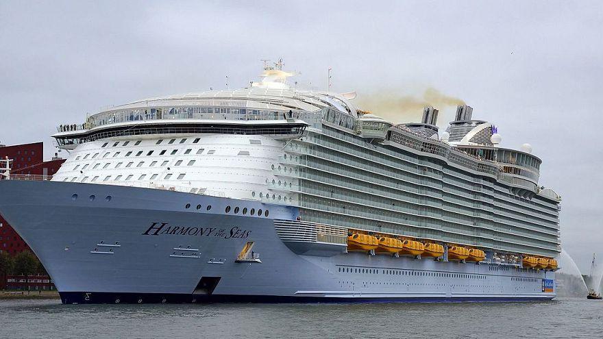 Royal Caribbean's Harmony of the Seas ship.