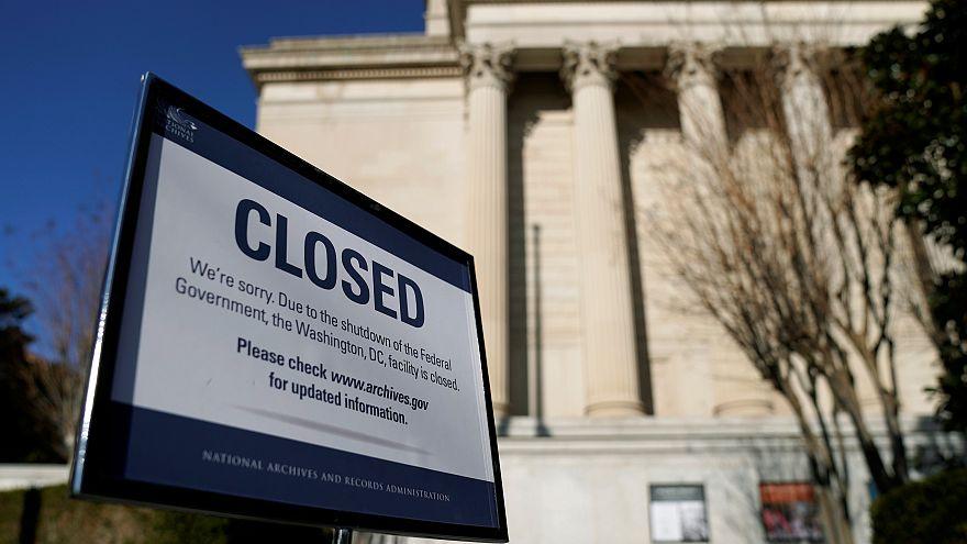 """L'Amérique paralysée par le """"shutdown"""""""