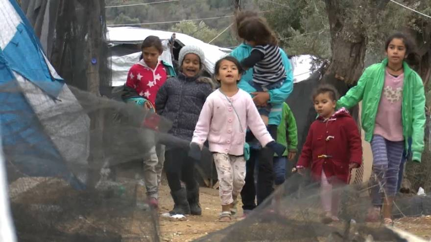 Moria migrant camp: Thousands of people remain living in dire conditions in Greece