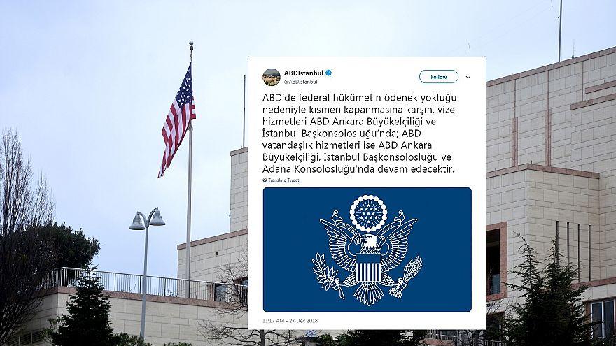 ABD Trkiye Elilii Tweet Atmay Durdurdu