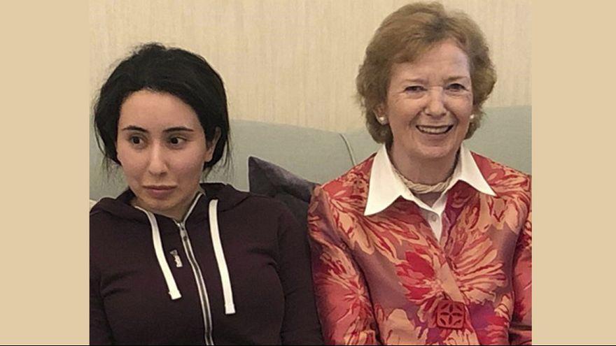 کمسیر سابق حقوق بشر سازمان ملل: شاهزاده دبی «پریشان و آشفته» است