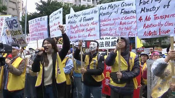 """""""Желтые жилеты"""" добрались до Тайваня"""