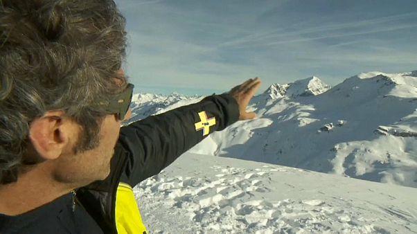 В Альпах повышенная лавиноопасность