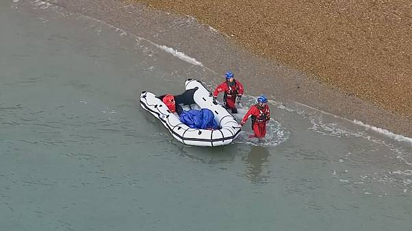 New group of migrants detained after crossing sea to England