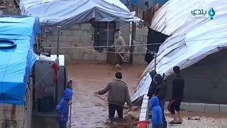 Συρία: Καταστροφικές πλημμύρες σε προσφυγικούς καταυλισμούς