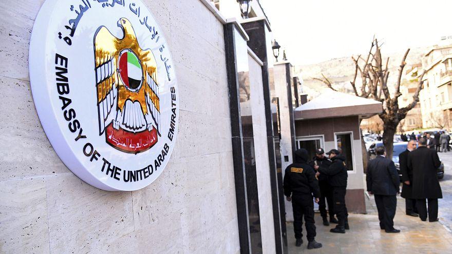 Birleşik Arap Emirlikleri, Şam'daki büyükelçiliğini yeniden açtı
