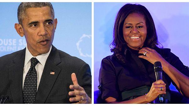 ABD halkı Obamalara hayran: Michelle ve Barack en çok özenilen kadın ve erkek oldu